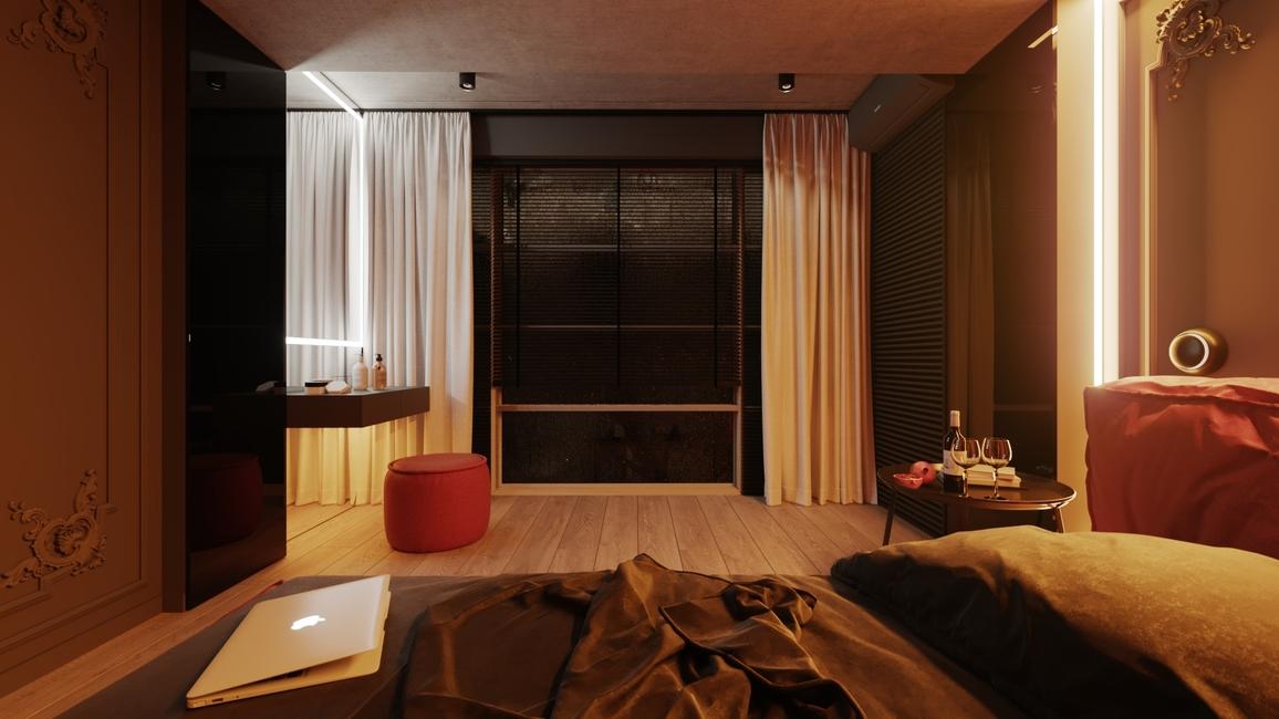 Modern home, French Design, Home decor, Noémie Maison, Dubai, Saachi Rana Design Studio, Hip apartment