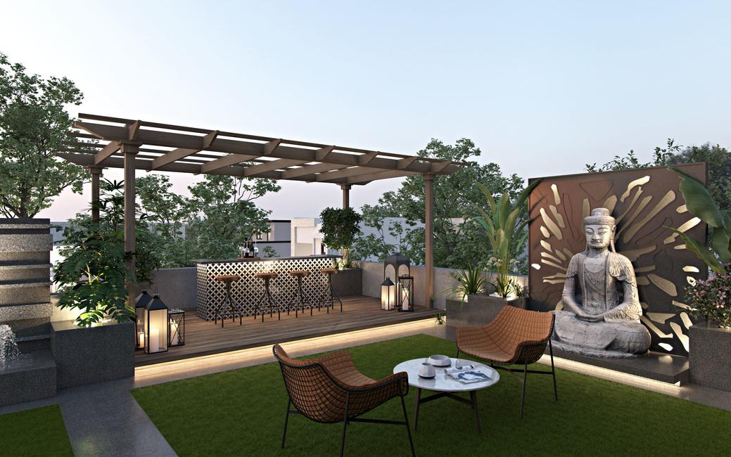 Aparna Kaushik, Moroccan design, Zen-like design, Outdoor spaces, Design ideas for outdoor spaces