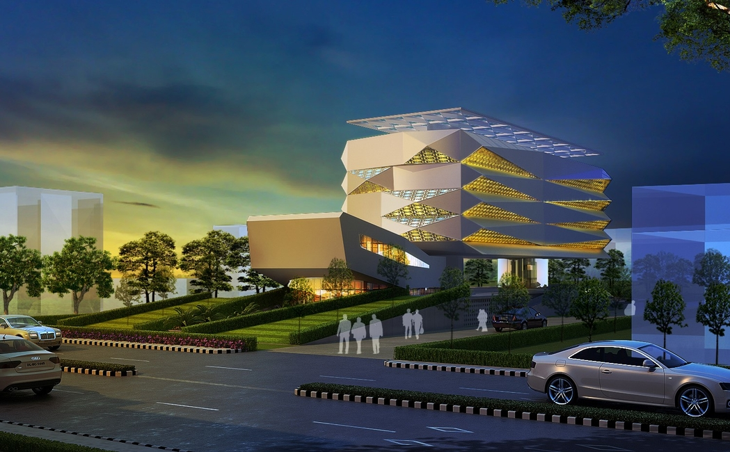 IOCL, C P Kukreja Architects, Net zero energy complex, Punjab, Mohali, Indian Oil Corporation Limited