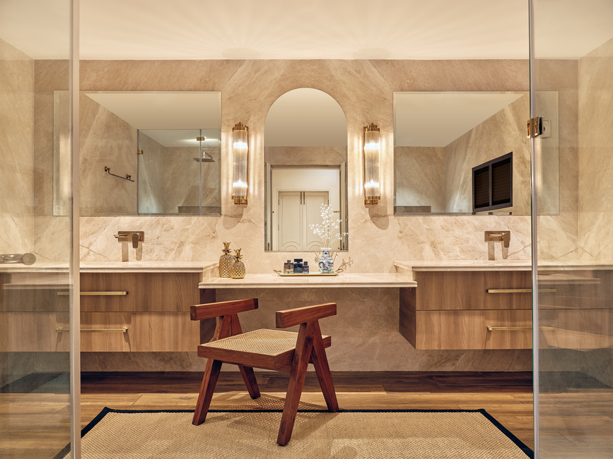 Studio Ruh, Kavya Sheth, Contemporary, Master suite, Remodelling, Transitional Oasis, Duco