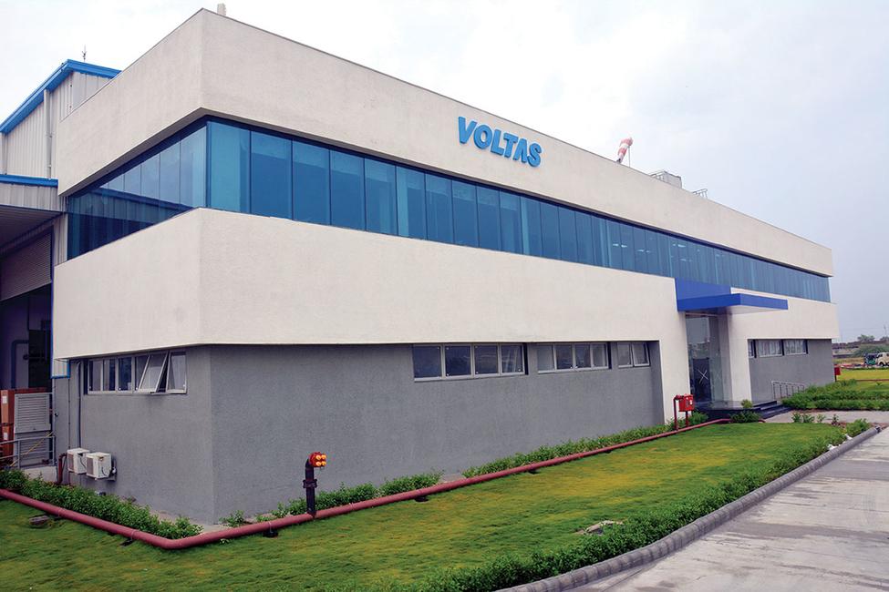 Voltas' Waghodia factory.