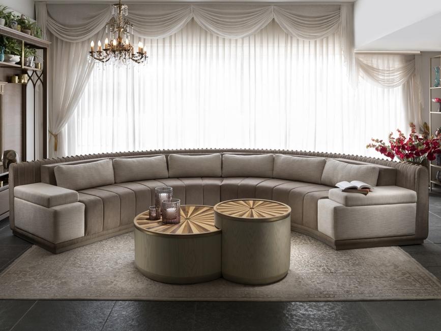 Valencia Curved Sofa -By Nivasa