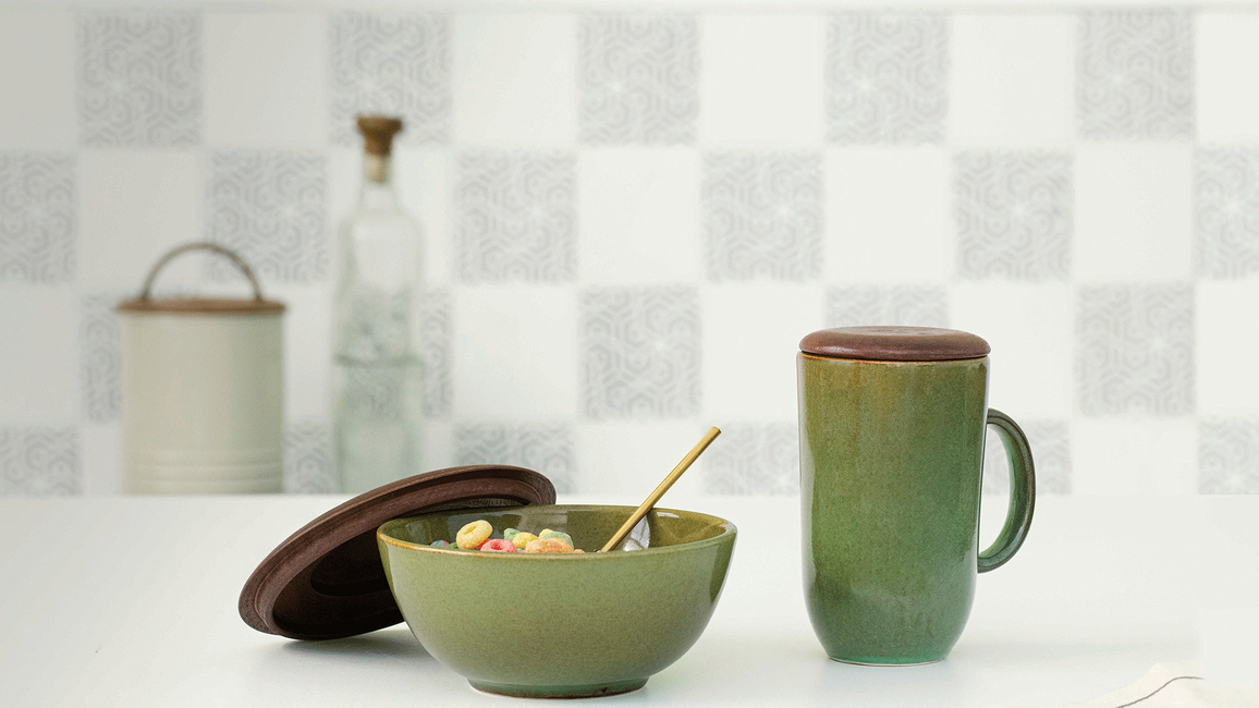 Ellementry, Ayush Baid, Contemporary, Rustic Sage, Tableware collection, Home decor, Handcrafted