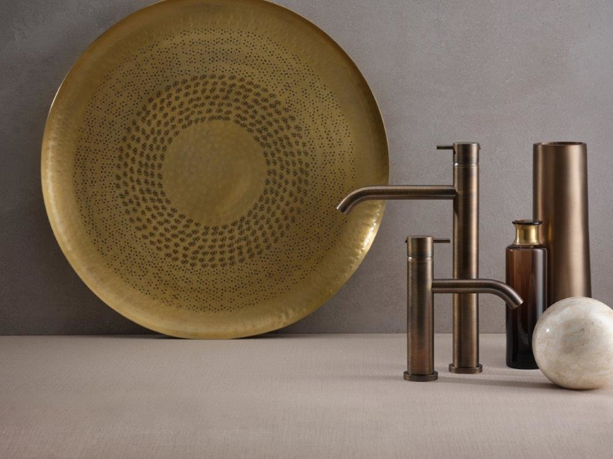 Ritmonio, Bathroom finishes, Made in Italy, Aesthetics, Rose Gold, Frosted Rose Gold, Brushed Rose Gold, Brushed Dark Bronze, Frosted Black Chrome, Frosted Champagne