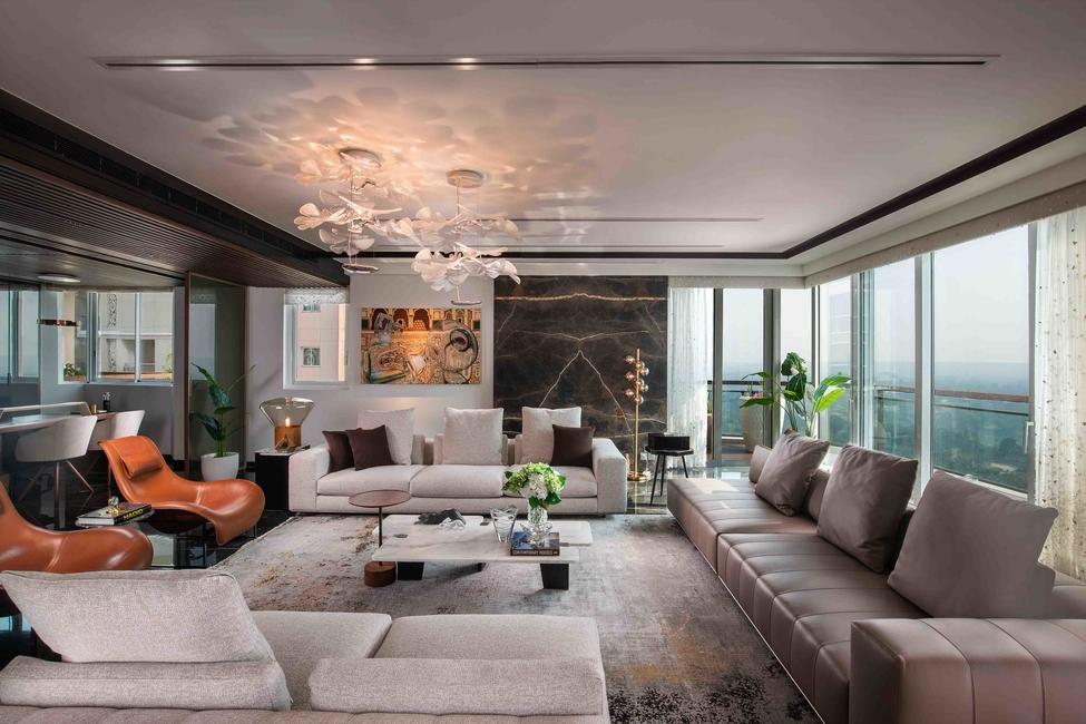 42mm Architecture, Penthouse design, Apartment design, Residential projects, Interior design, Minimalist design