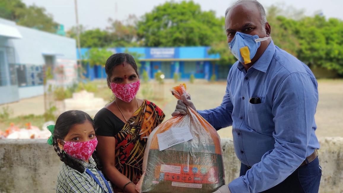 PUPS Karapakkam Provisions distribution
