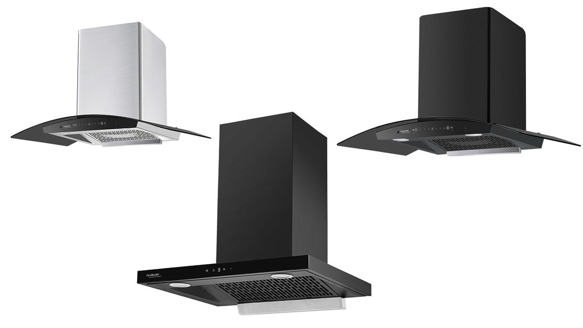 Hindware Appliances, Somany Home Innovation Limited, Ripple series, Alexio series, Auto-clean chimneys, Filter-less chimneys, Energy-efficient chimneys, Flipkart, Smart automation, Motion sensors, Kitchen chimneys