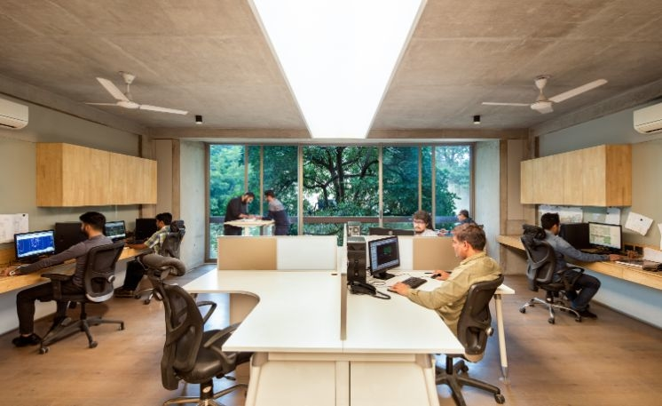 Urban design, Urbanscape, Delhi office, Commercial store, Architectural office, Vibhor Sogani, Lighting fixtures, Bover, Barriso, Luminaire, Workstations, Louis Poulsen