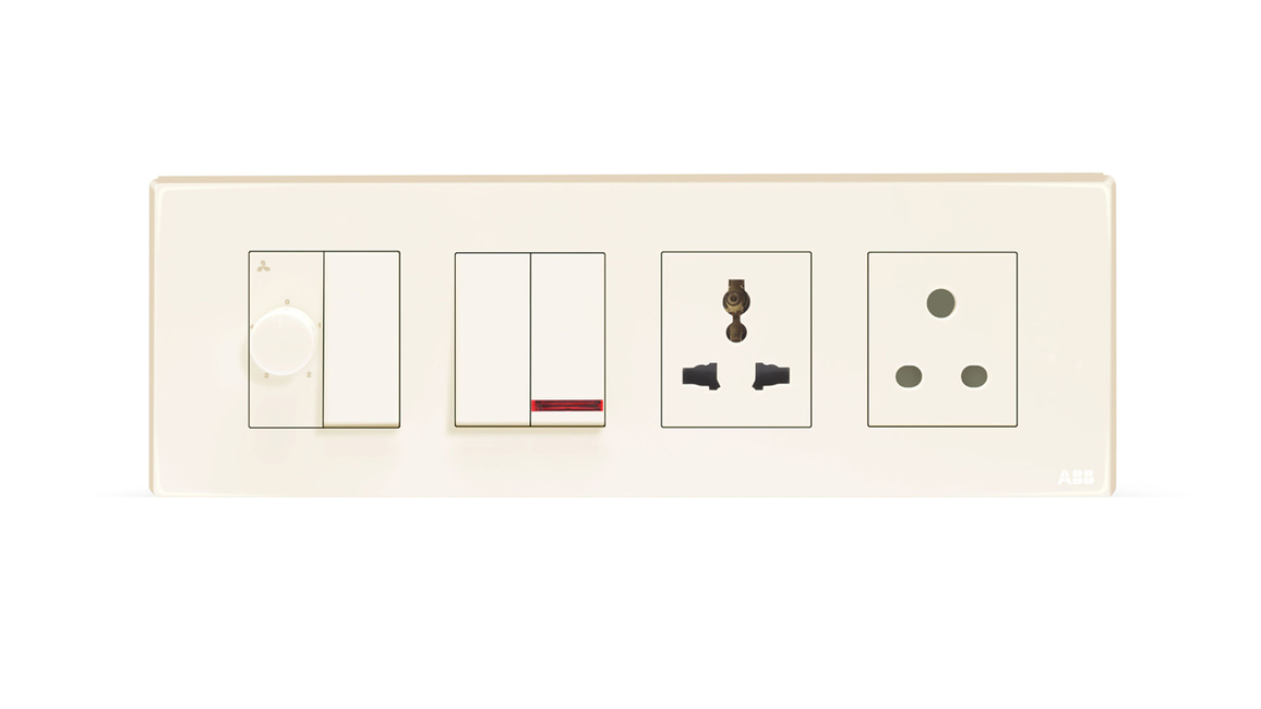 Launch, Anti-bacterial switches, Anti-bacterial sockets, Anti-bacterial properties, ABB Tvisha, Commercial projects, Residential projects