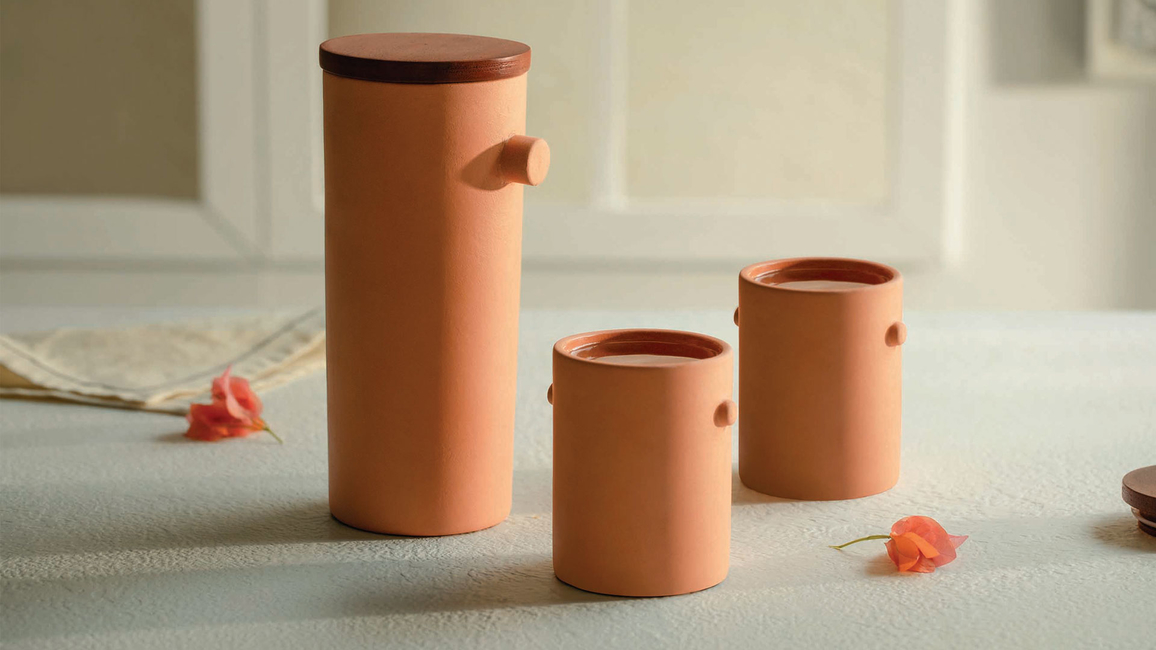 Ellementry, Launch, Sienna, Bakeware collection, Terracotta, Handcrafted products