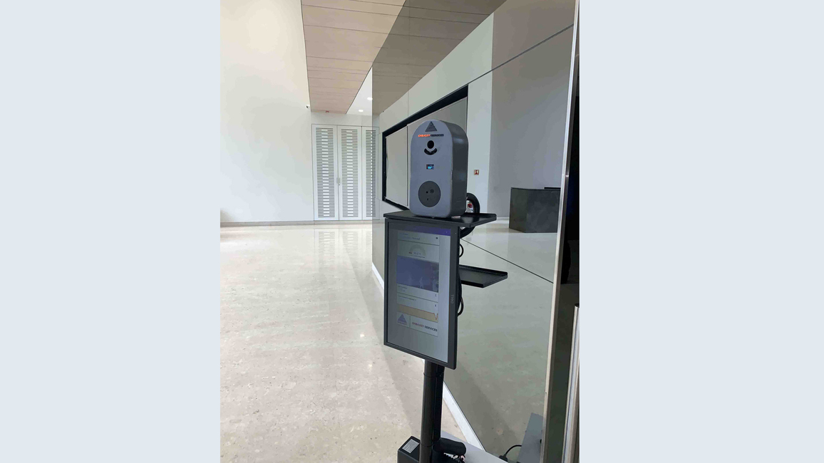 Automated thermal scanning solutions, Embassy Services, Artificial Intelligence, Machine Learning, Accurate non-contact temperature readings
