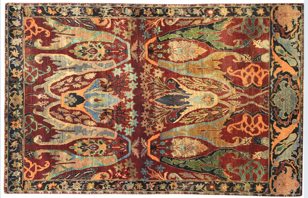 OBEETEE, Turkish artistry, Indian craftsman, THE REKHTA COLLECTION, Myriad colours, Carpet designs, Hand-knotted carpets