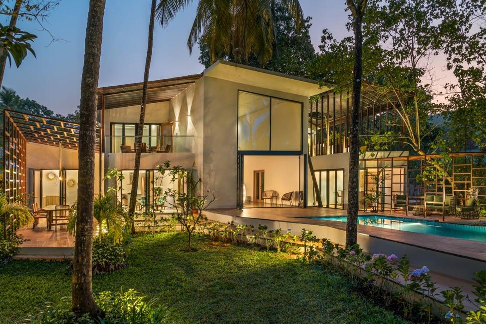 Kriss Real Estate, SAV Architecture, SI-OUL VILLAS, Terra Villa, Villas in Goa, Vacation homes, Euromobile Kitchen, Geoffery Bawa