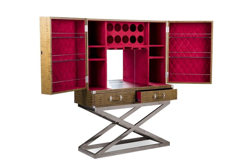 Idus, Beverly bar cabinet, Contemporary furniture, Wine storage, Liquor cabinets