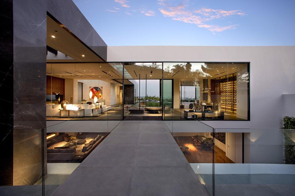 Studio Svetti Architecture, Mass Beverly, McClean Design, Ernesto Meda, Minotti LA, Henge, TR 102, Luxury Residence, Contemporary homes