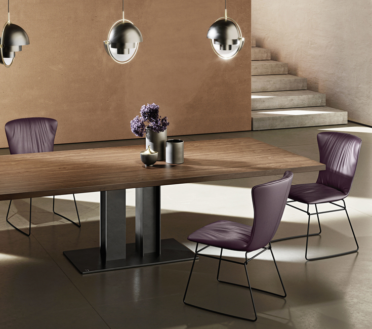 Plüsch, Draenert, Adler dining table, Victor dining table, German design, Imported furniture, Contemporary furniture