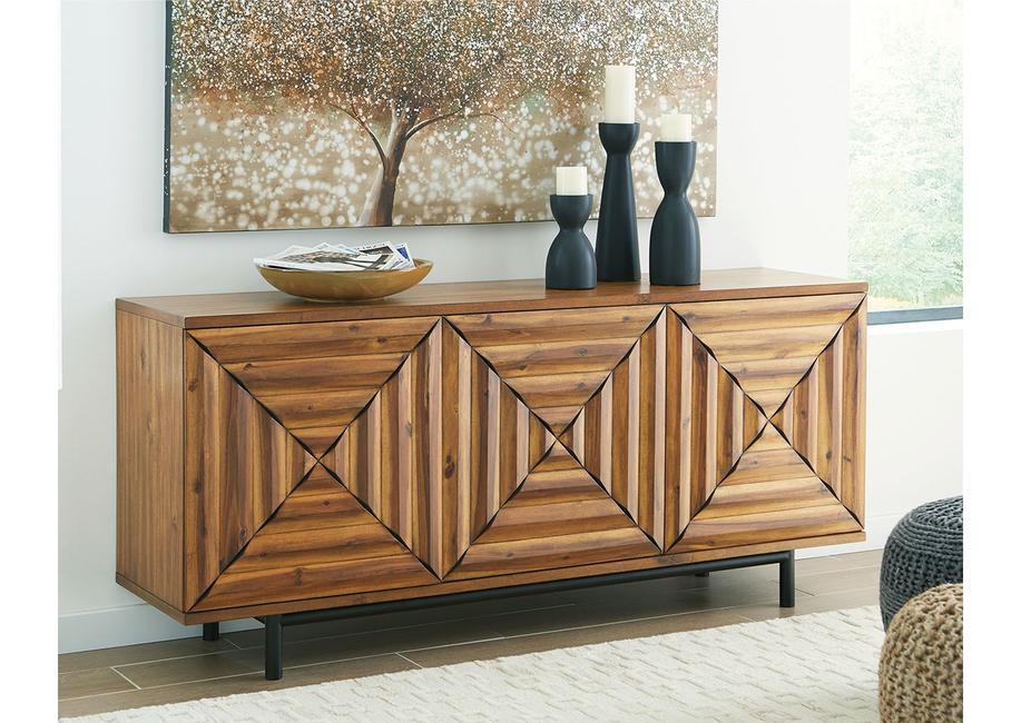Dash Square, Ashley Furniture Home Store, Fossil Ridge cabinet, Fair Ridge cabinet, Robin Ridge cabinet, Accent cabinet, Wooden furniture