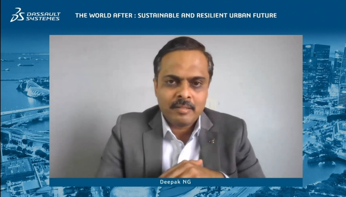 Dassault Systèmes, The World After: Sustainable and Resilient Urban Future conference, 3DExperience, Smart cities, Urban infrastructure, Urban planning, City management, Analytic tools, 3D software, Pandemic planning, Virtual conference