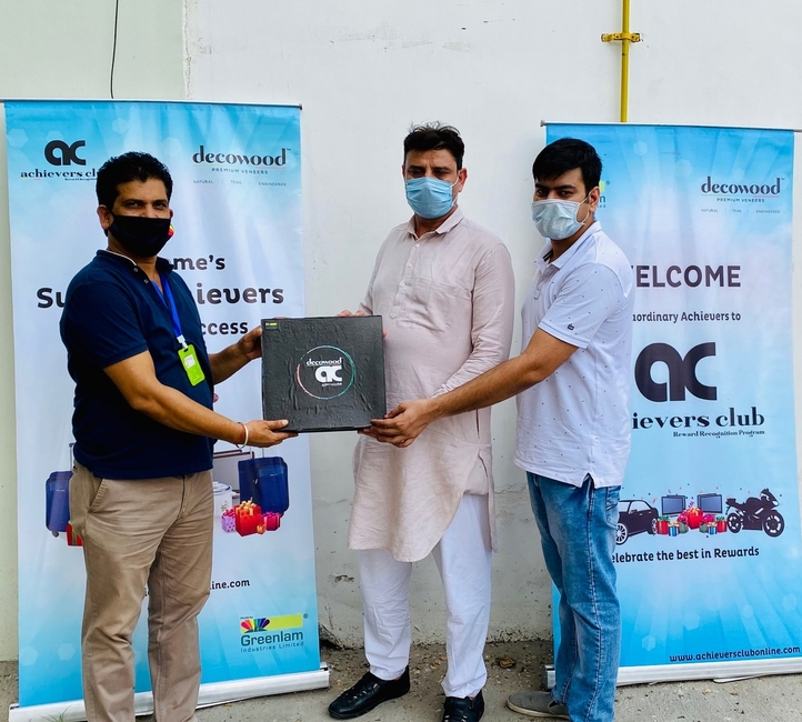 Greenlam Industries, Covid-19, COVID-19 health insurance scheme, Interior contractors, Decowood Cares, Decowood, Safety Hygiene Kit, Workplace safety, Decorative Veneers, Shivaji Mohinta