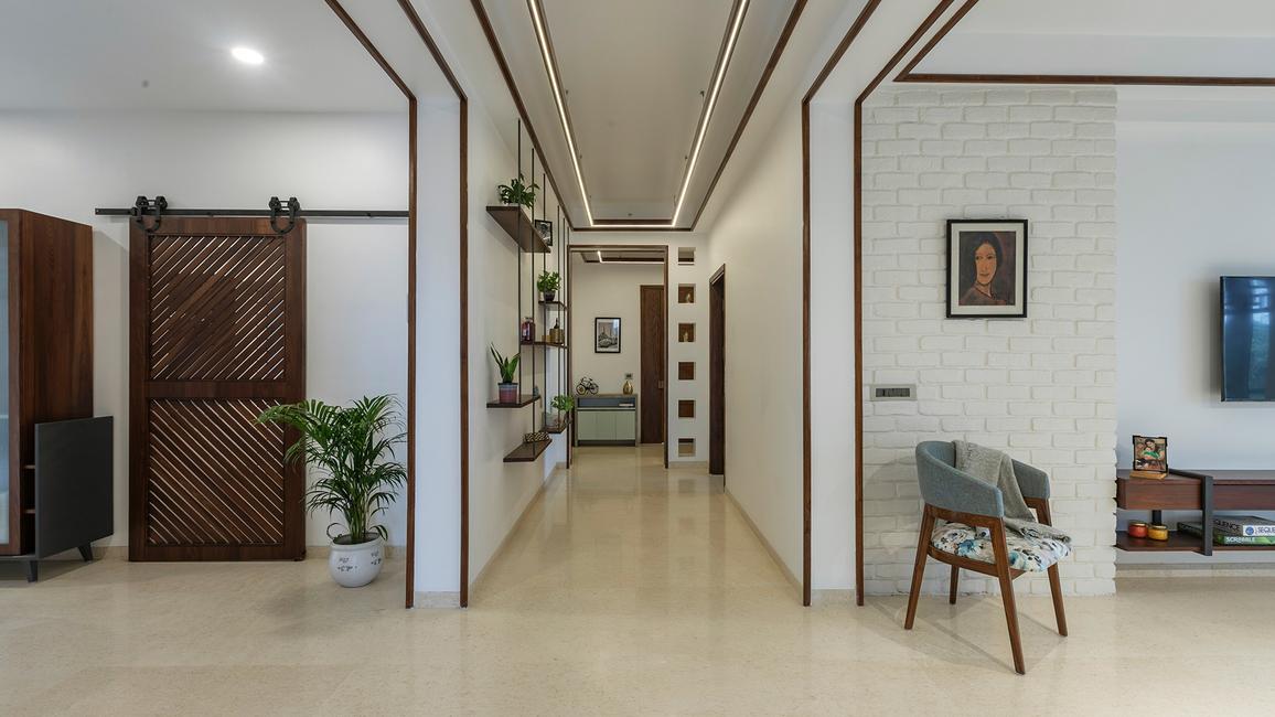 The Framed Chimera, Luxury apartment, Gurugram homes, Earthy palette, Devyani Gupta, Nehit Vij, Studio Intrigue