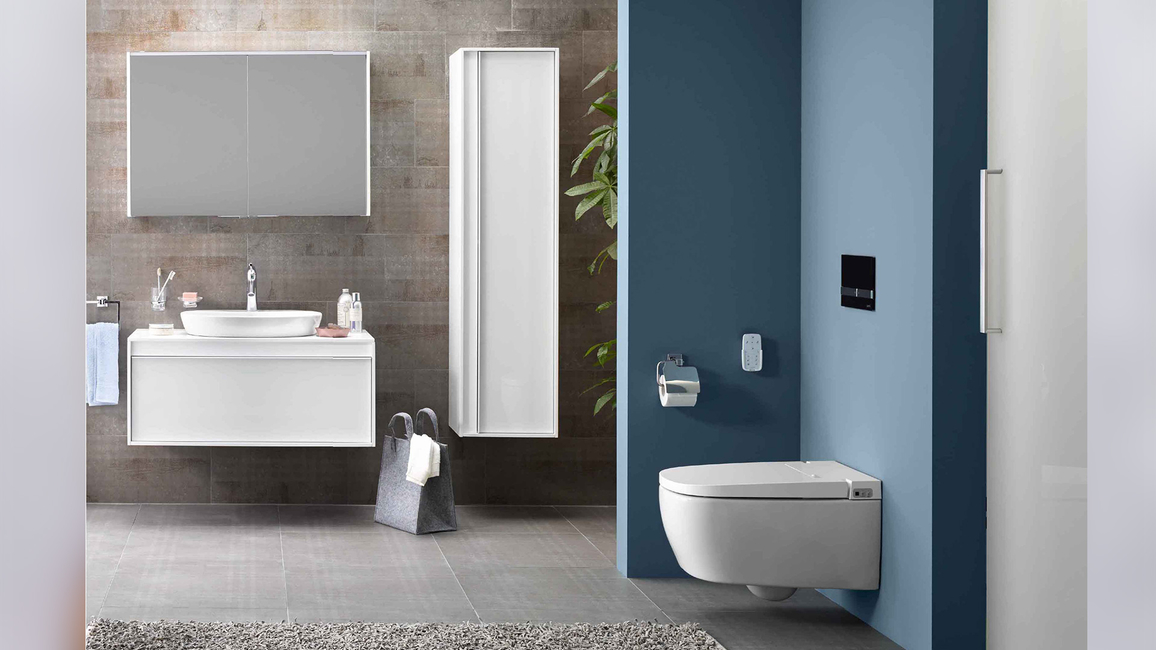 Vitra, Luxurious hygiene, VitrA V-Care Smart Toilet, Customisable personal hygiene washing experience, Smart toilets