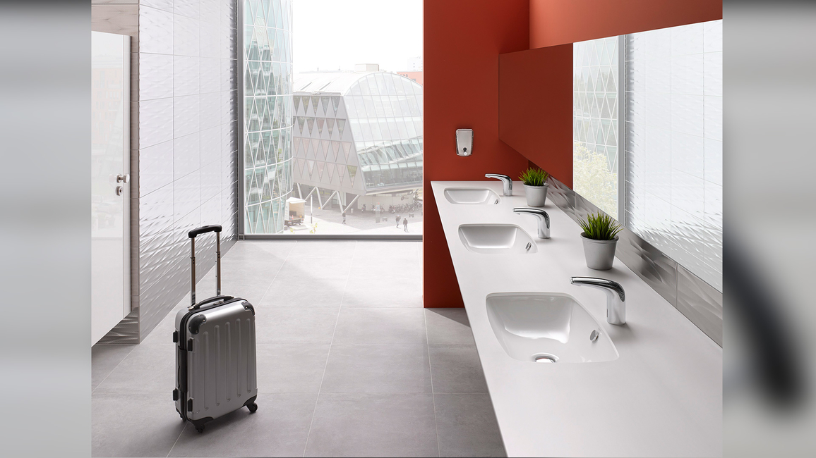 Vitra, Sensor faucets, Water conservation, Complete automation process, Hygienic faucets