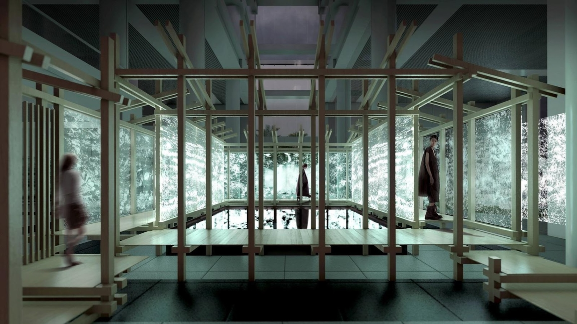 Singapore Archifest 2020 Pavilion design by  ADDP Architects in collaboration with OWIU Design