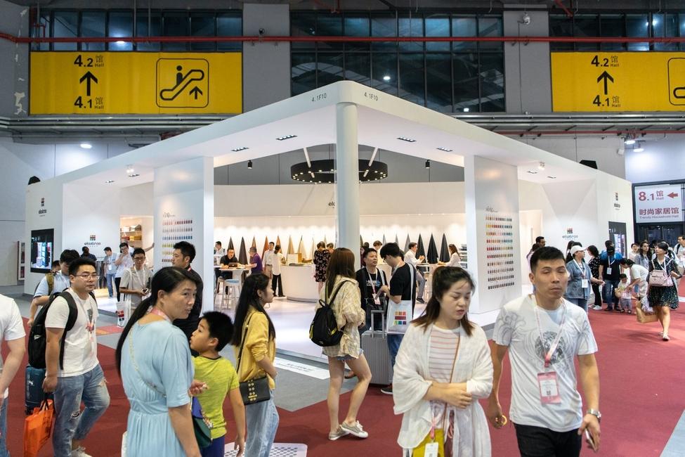 Messe Frankfurt, Intertextile Shanghai Home Textiles, Home textile industry, Upholstery and furnishing fabrics, Sofa fabrics, Online expo, Virtual events, Textile exhibition, Textile fair