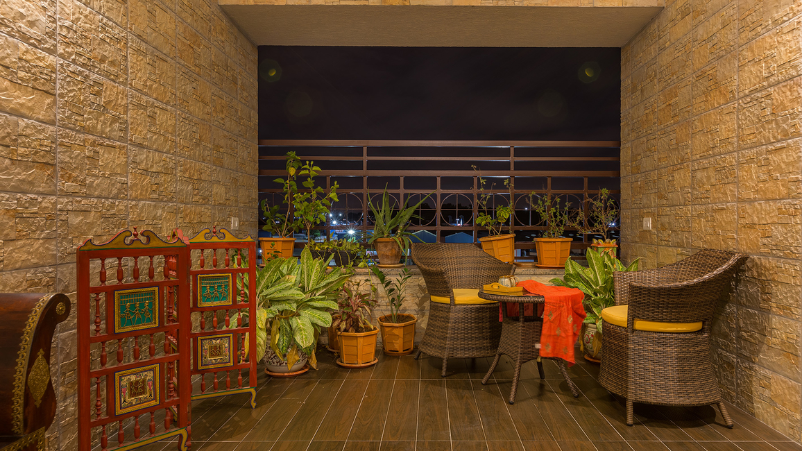 Designer Abhishek Chadha, Terrace design, Balcony design, Cosy nooks, Open living rooms, Green indoor spaces, Design ideas