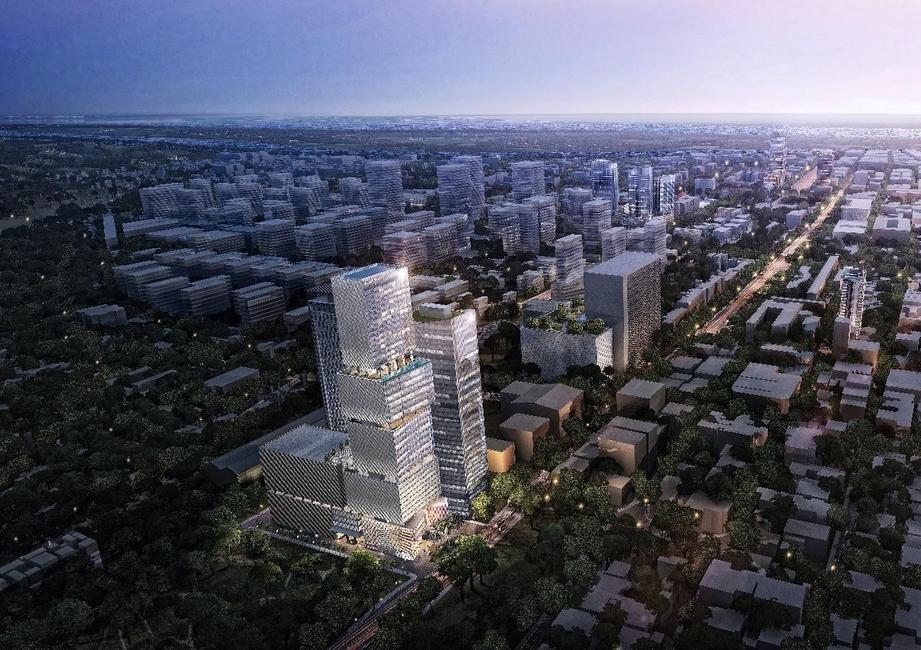 Aedas, Chipmong tower, Mixed-use Development, Russian Federation Boulevard, Centre of Phnom Penh, Fairfield Hotel by Marriott