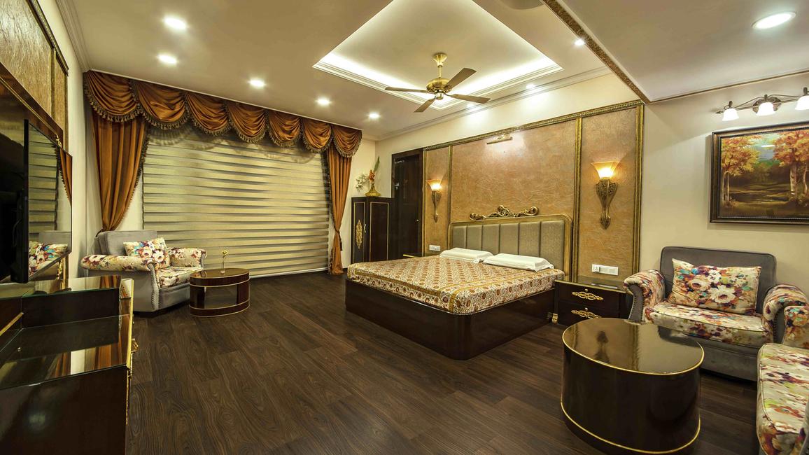 Arredatore Design Studio, Residential design  Haveli, Rajasthani design elements, Home automation, Traditional aesthetics, Classic wood designs