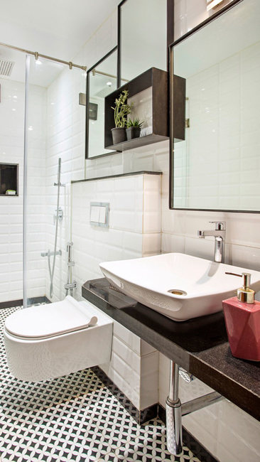 Hipcouch, Bathroom Design, Design tips and tricks, Home Renovation Trends, Bathroom makeover, Space saving ideas, Compact room designs