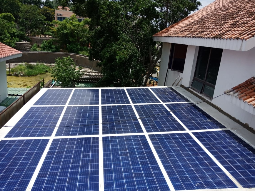 Visaka Industries, Atum, Solar roof, Eco friendly roof, Energy generating roof, Renewable energy, Make in India, Patented designs, Sustainable solutions, Green roof