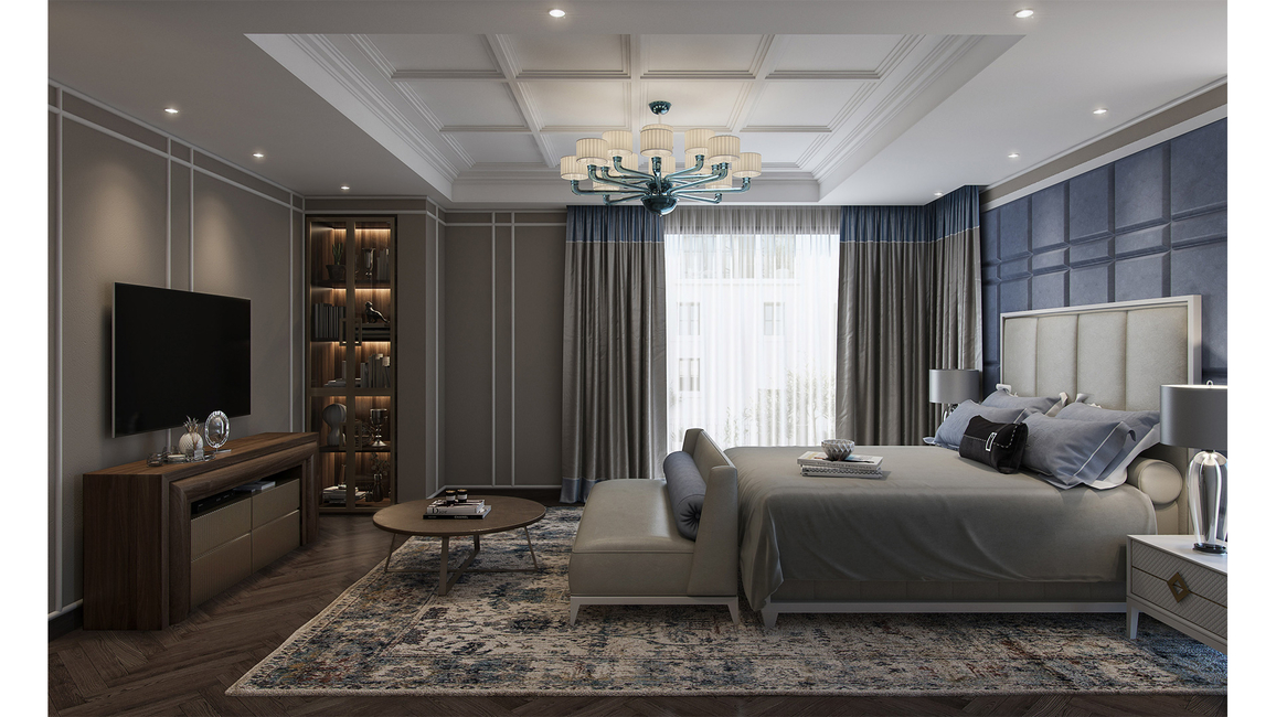 Aparna Kaushik, Luxurious bedrooms, Perfectly balanced elements, Harmonious colour palette, Charming bedrooms, Contemporary bedrooms