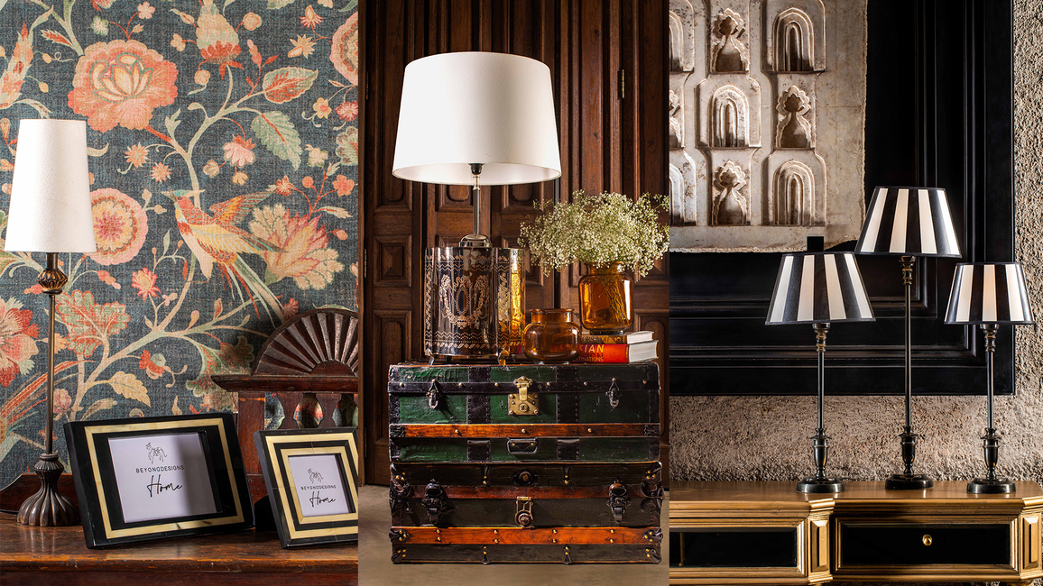 Beyond Designs, Launches, New collection, Statement table lamps