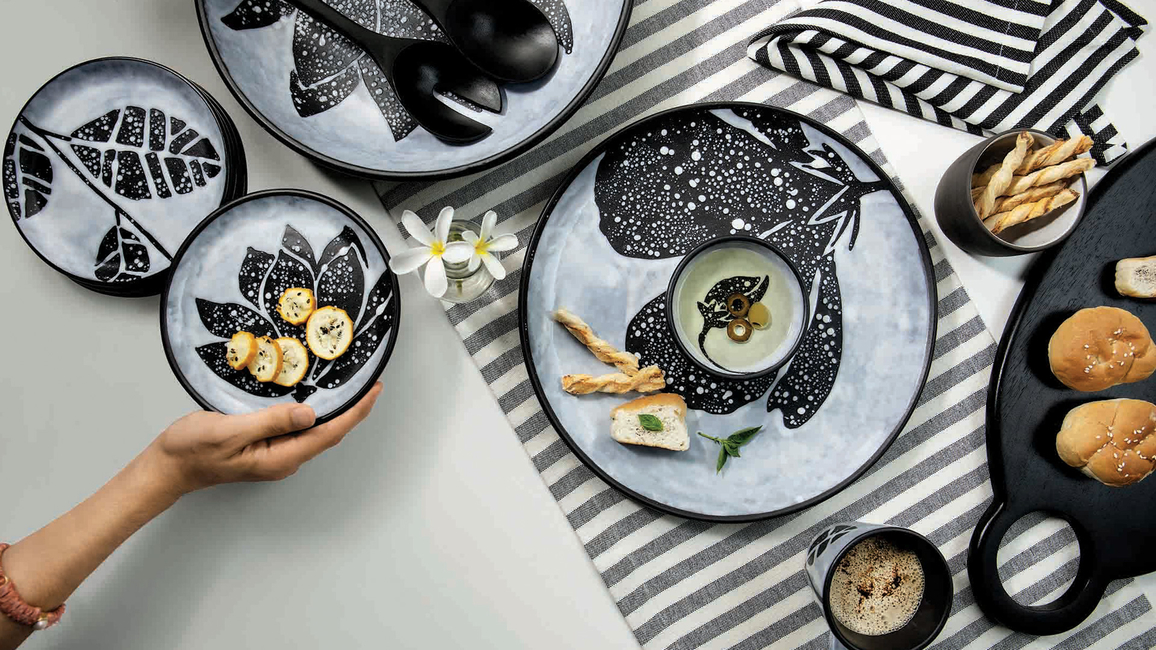 Ellementry, Launch, Tableware collections, Contemporary homes, Tableware, Serveware, Midnight collection, Eclipse collection