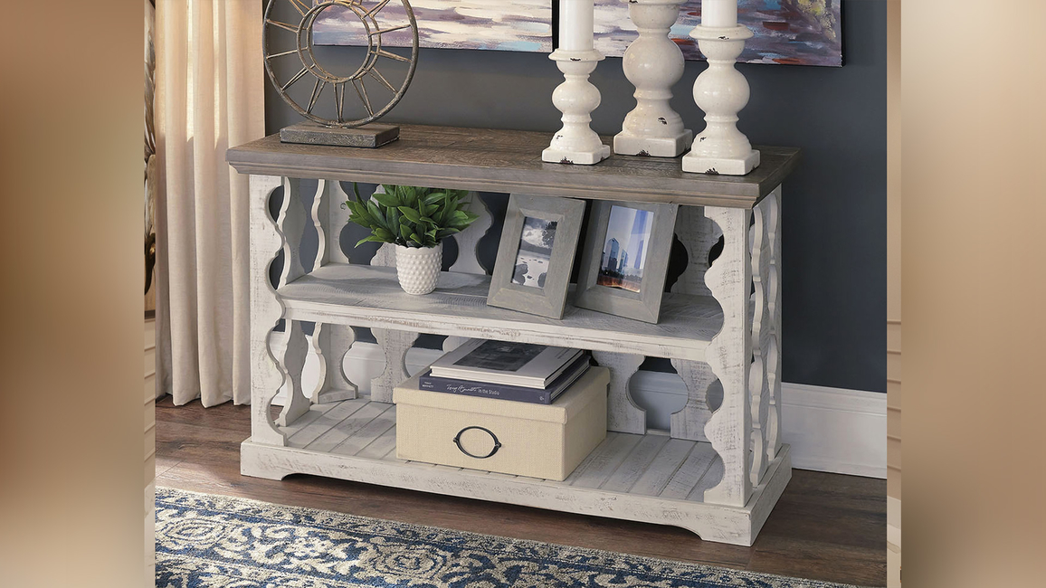 Ashley Furniture Home Store, Launch, Chic console tables, India, Dash Square