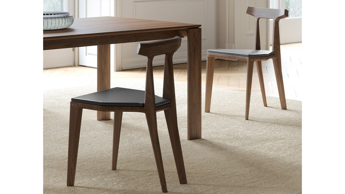 Wewood - Portuguese Joinery, Orca chair, Chairs, Sculptural backrest, Orca inspired chair