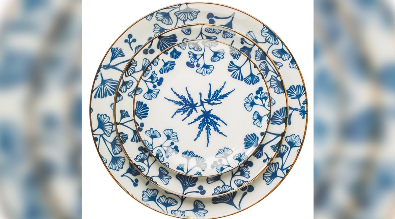 Beyond Designs, Beyond Designs Home, Tableware collection, Blue and white palette, Dinnerware, Serveware, Spring motifs