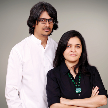 Dipal Kothari and Atrey Chhaya
