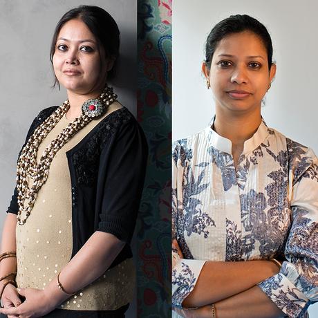 Amrita Guha and Joya Nandurdikar